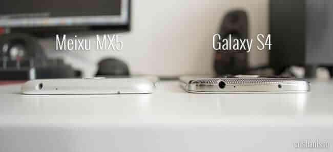 meizu mx5 vs. galaxy s4