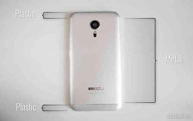 Meizu MX 5: ce eplastic si ce e metal