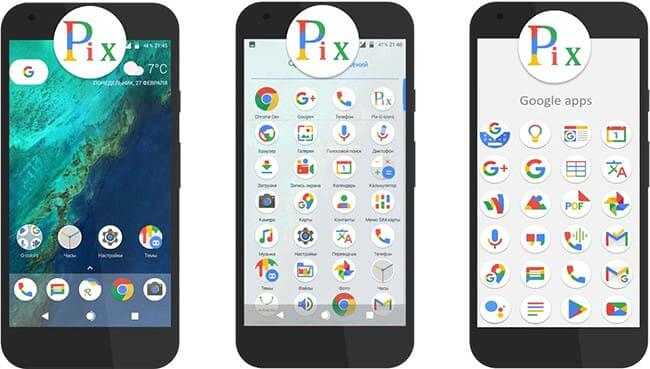 Pix-G Icon Pack Android