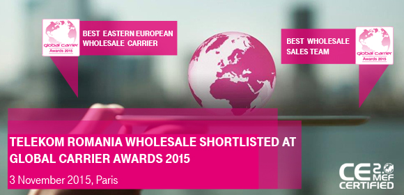 Global Carrier awards 2015