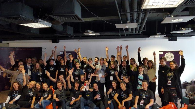 SpaceApps Challenge Bucharest 2018 overall