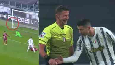 Cristiano Ronaldo Checked Official's Watch After Goal Decision