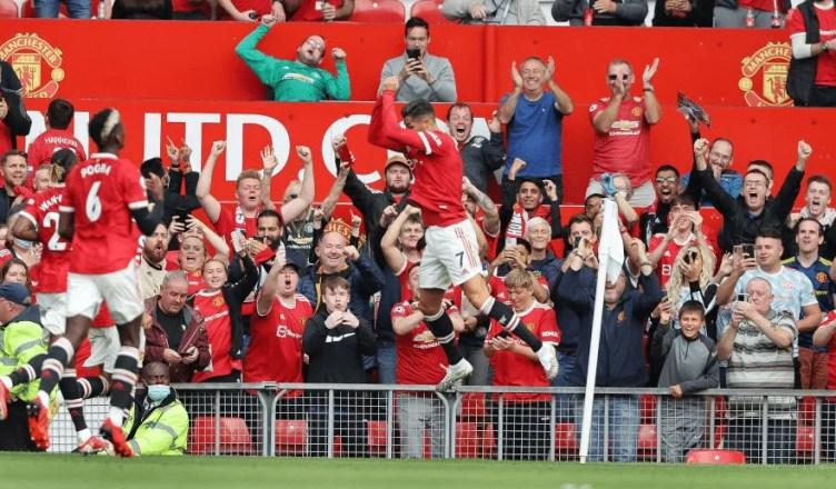 Ronaldo's debut stats after dream Manchester United return