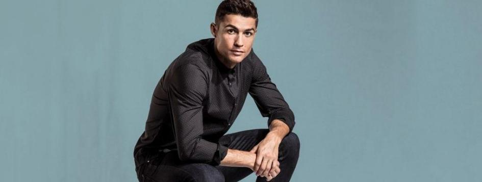 851bdea6876a25 Instagram  Cristiano Ronaldo poses with his Nike Air Force 1 CR7 ...