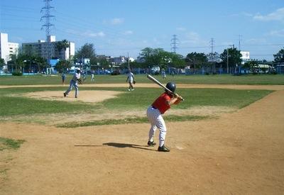 Beisbolistas cubanos ministran por medio del deporte