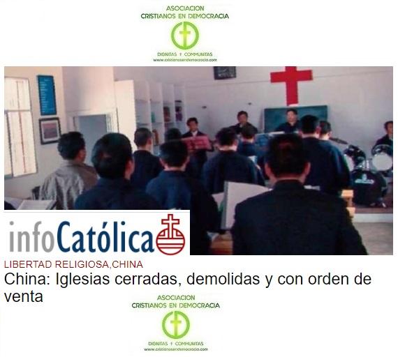 Recrudecimiento de la persecución comunista en China a la Iglesia Católica