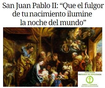 La navidad de S Juan Pablo II