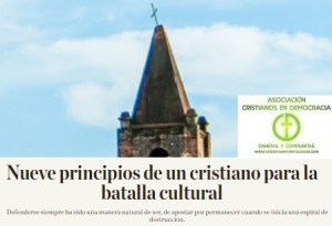 ¿Estamos preparados para la batalla cultural?