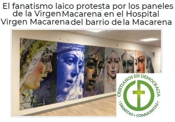 Ridículo del laicismo radical en Sevilla.