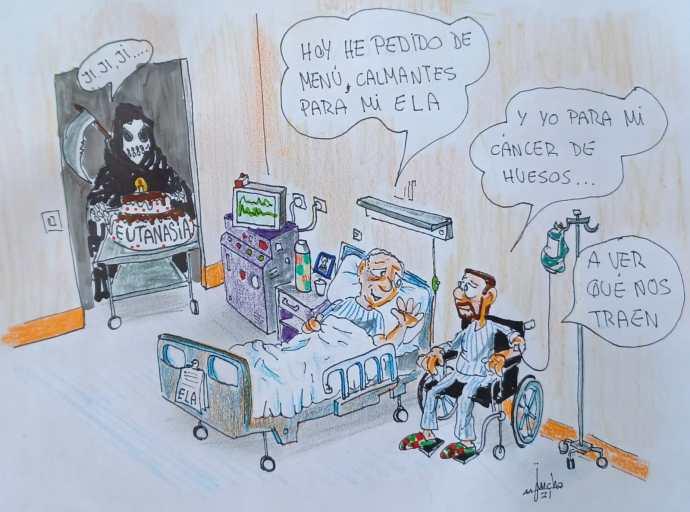 Eutanasia: Pena de muerte para ancianos y enfermos sin recursos.