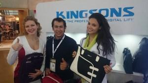 Ganadores de uno de los concursos de Kingsons en ChileDigital