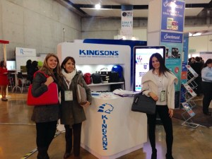 Parte del Team Kingsons en ChileDigital .