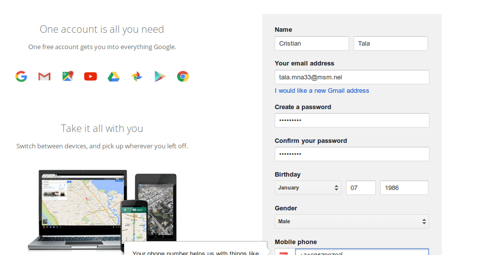 Google Docs With Info