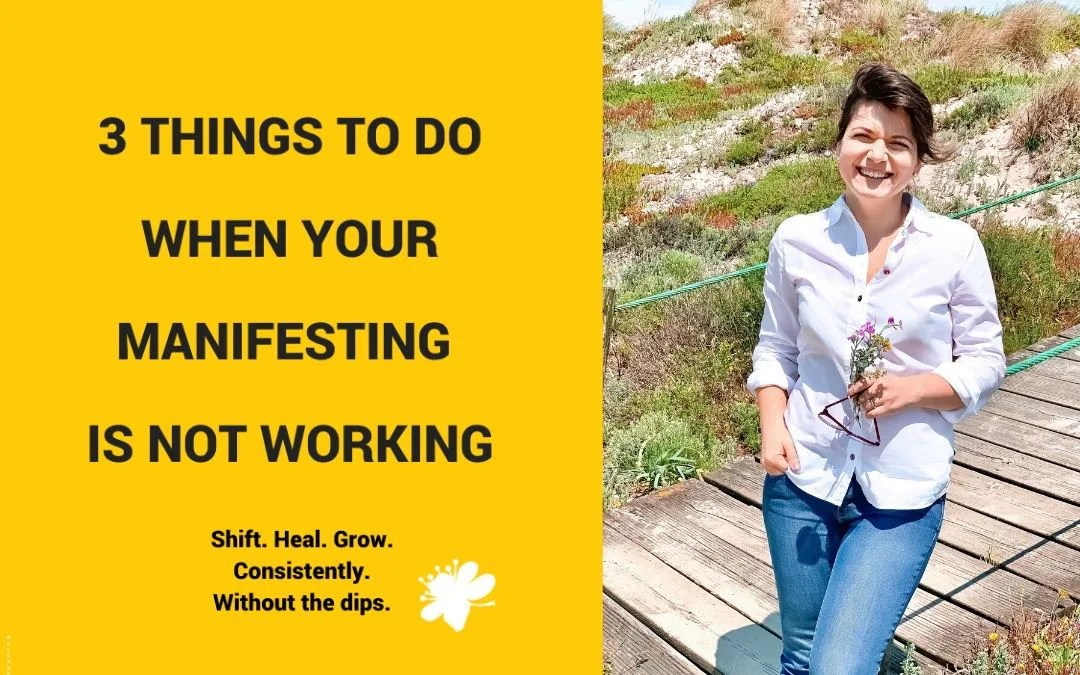 3 Things To Do When Your Manifesting Is Not Working
