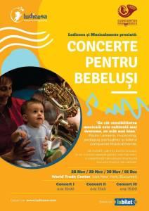 Concerte pentru bebeluși @ Pullman Bucharest World Trade Center, Sala New York