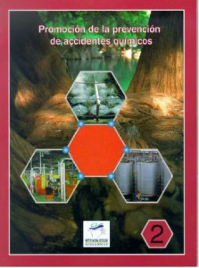 Book Cover: Promoción de la prevención de accidentes químicos