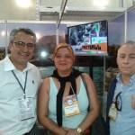 Donizete Soares , Viviane Guimarães e Sérgio Boffa Pedro
