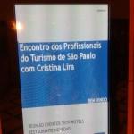 Encontro dos Profissionais do turismo de SP com Bruno Omori- no hotel