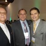 Orlando Souza, Toni Sando, presidente executivo do SP Convention,