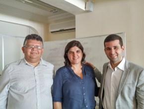Manoel Sidnesio, Christiane Alecrim e Felipe Alves