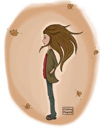 otoño, reflexión, renovación, cambios, ilustración, cristina mayoral