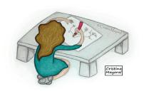 ilustracion, dibujar, cristina mayoral, dibujos, miss inquieta