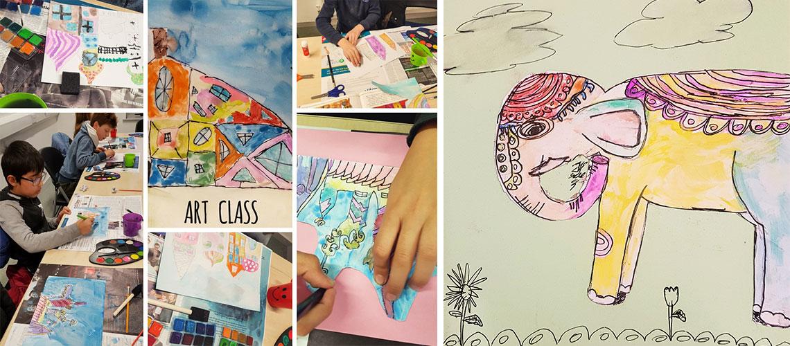 art class in tyrrelstown community centre dublin 15