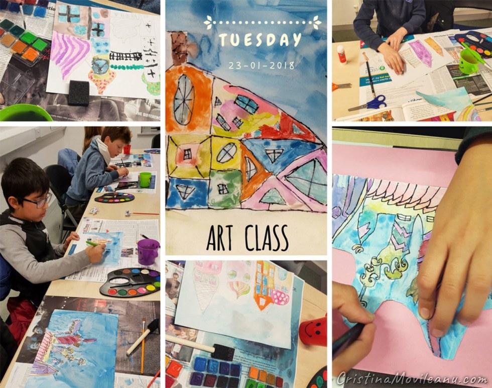 Tuesday Art Class at Tyrrelstown Community Centre