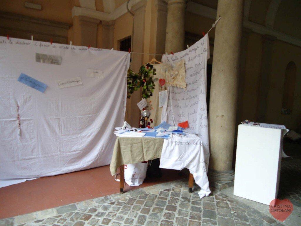 """Pesaro, palazzo Mazzolari Mosca, giugno 2014. """"Mi chiamo Costanza e vengo dalla Cina"""""""