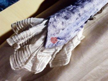 Vestimenta, installazione - Costume teatrale dei primi del '900, sartoria Paul Pouleur, Bruxelles