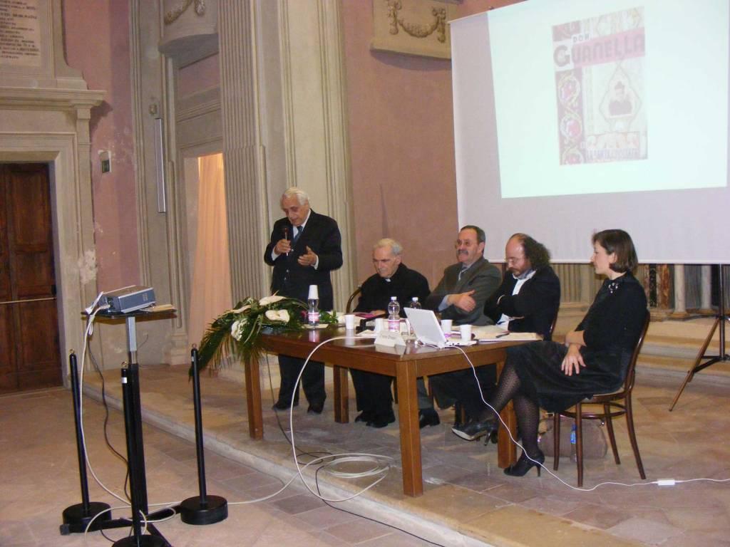 """Pesaro, chiesa dell'Annunziata, 19 febbraio 2011. presentazione del libro """"Giovanni Gabucci. Il facchino della Diocesi"""""""