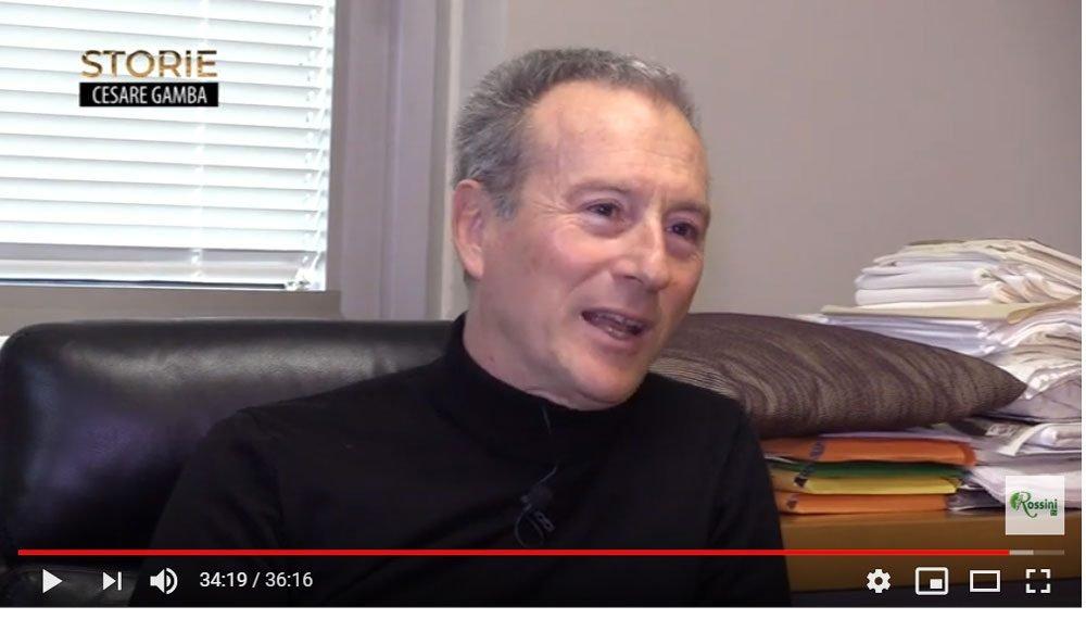 Cesare Gamba - Intervista