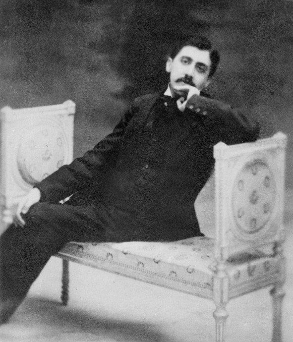 Otto Wegener - ritratto di Marcel Proust (1895 circa)