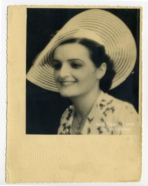 Ilde Donati Scipioni, 1937 - foto raccolta Anna Capponi Donati