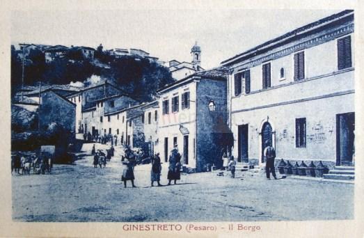 Ginestreto - Pesaro (cartolina primi '900)