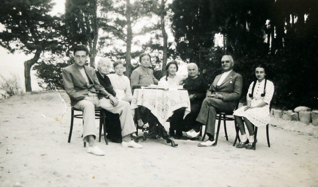 Monteciccardo, anni '30-'40 del '900 - La Famiglia Scevola Mariotti - Memoteca Pian del Bruscolo