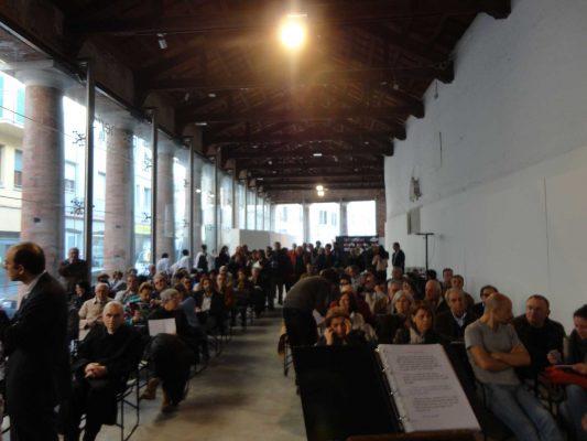 """Pesaro, Centro arti visive Pescheria, 13 aprile 2014. Presentazione del numero 4 di """"Promemoria"""""""