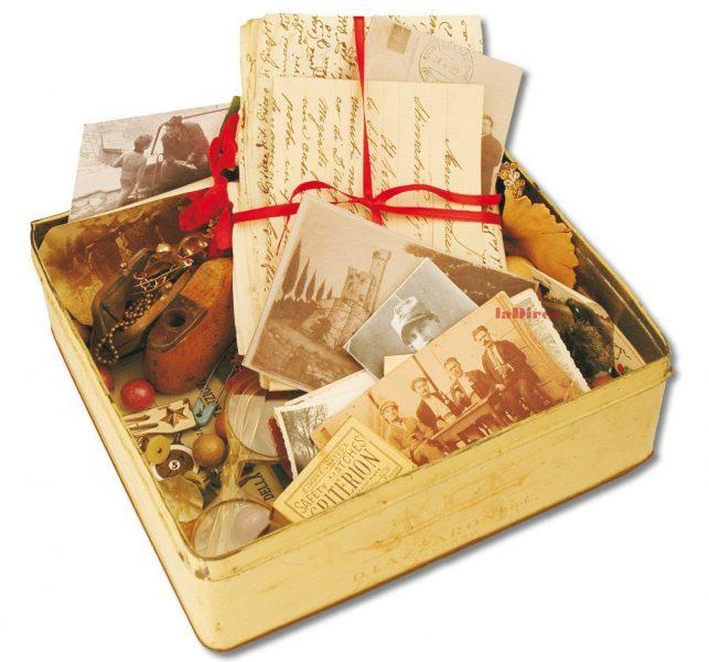 Un paese e cento storie - la scatola dei ricordi