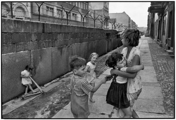 WEST GERMANY. 1962. West Berlin. The Berlin wall.