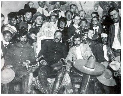 cristinaarce_periodismo_fotografico_1914_villa_y_zapata_foto_casasola