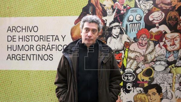 imagen - La agitadora historieta argentina luce sus joyas en la Biblioteca Nacional