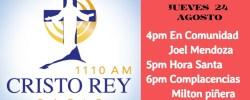 CRR En Vivo Juev 24 Agosto 4pm a 7pm