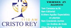CRR En Vivo Viern 25 Agosto 7am a 11am