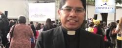 Desde la Nunciatura con el Padre Luis Gaspar Director Ejecutivo de la Visita del Papa a Lima