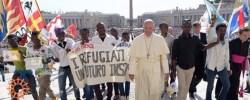 """""""Compartiendo el Viaje"""", campaña de Caritas Internationalis por la migración apoyada por el Papa"""