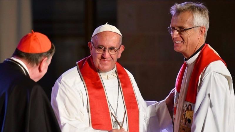 Resultado de imagen para luteranos firman acuerdo con el Papa