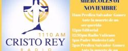 Cristo Rey Radio En Vivo Jueves 02 Noviembre 7am a 11am