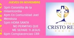 Cristo Rey Radio En Vivo Jueves 9 Noviembre 3pm a 7pm