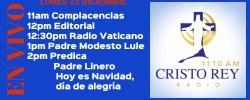 Cristo Rey Radio En Vivo Lunes 25 Diciembre 11am a 3pm