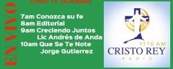 Cristo Rey Radio En Vivo Lunes 18 Diciembre 7am a 11am